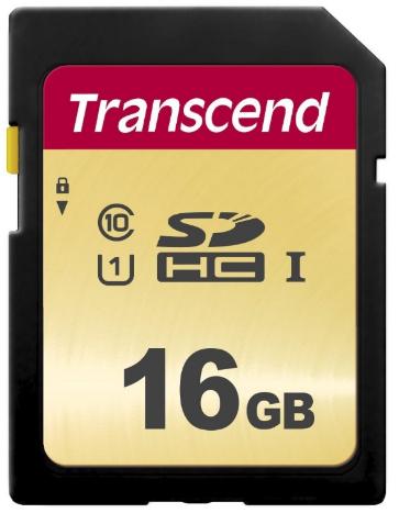 Transcend 16GB, UHS-I, SD 16GB SD UHS-I Class 10 memory card
