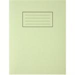 Silvine 9X7 EXER BOOKS FEINT MARGIN GRN