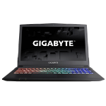 """Gigabyte P series SABRE15K-CF1 2.8GHz i7-7700HQ 15.6"""" 1920 x 1080pixels Black Notebook"""