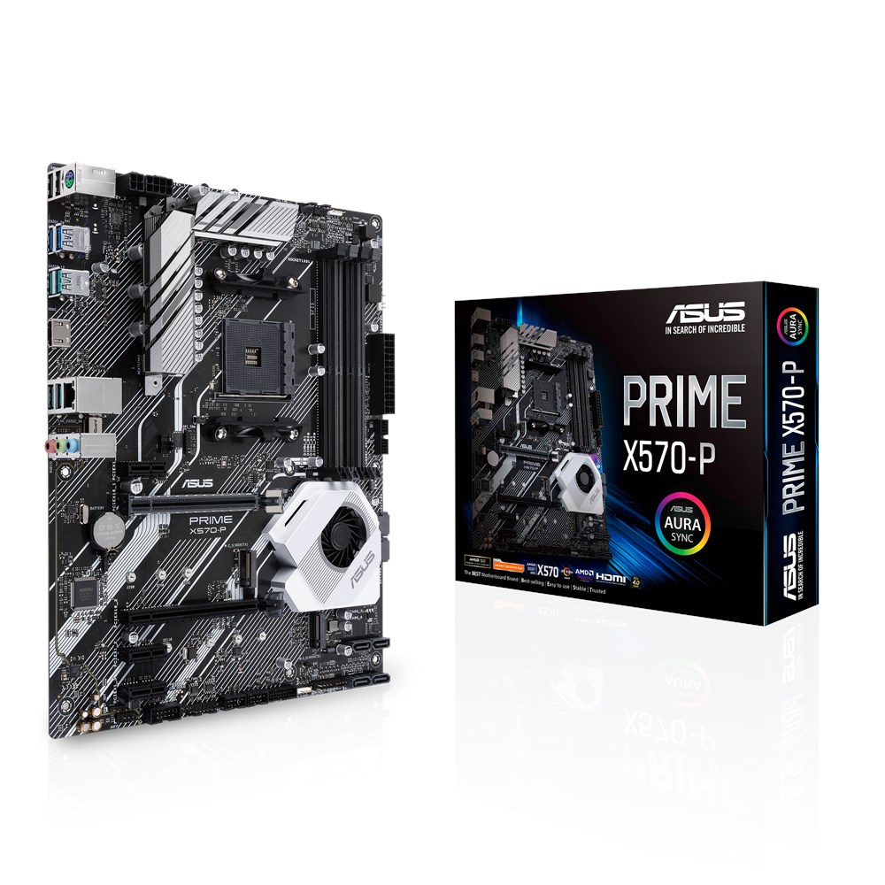 ASUS PRIME X570-P MOTHERBOARD SOCKET AM4 ATX AMD X570