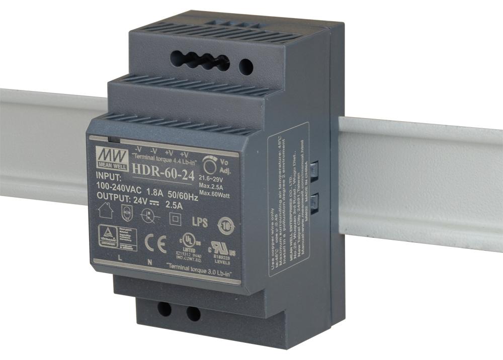 D-Link DIS-H60-24 power supply unit 60 W Black