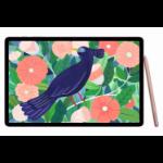 "Samsung Galaxy Tab S7+ 5G SM-T976B LTE-TDD & LTE-FDD 256 GB 31.5 cm (12.4"") Qualcomm Snapdragon 8 GB Wi-Fi 6 (802.11ax) Bronze"