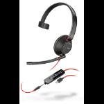 POLY Blackwire 5210 Headset Head-band USB Type-C Black