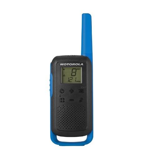 Motorola T62 two-way radio 16 channels 12500 MHz Black, Blue