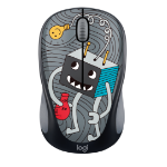 Logitech M238 mouse RF Wireless Optical 1000 DPI Ambidextrous