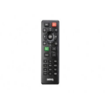Benq 5J.J9V06.001 IR Wireless Push buttons Black remote control