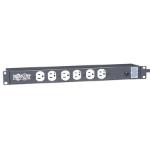 "Tripp Lite RS1215-HG surge protector 12 AC outlet(s) 120 V 179.9"" (4.57 m) Black"