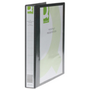 Q-CONNECT KF01332 ring binder A4 Black
