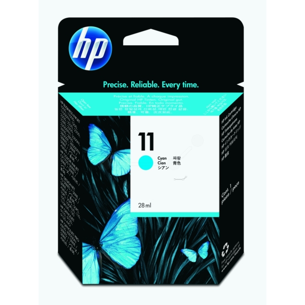 HP C4836AE (11) Ink cartridge cyan, 2.35K pages, 28ml