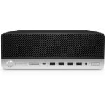 HP EliteDesk 705 G4 2600 SFF 2nd Generation AMD Ryzen™ 5 8 GB DDR4-SDRAM 256 GB SSD Windows 10 Pro PC Black, Silver