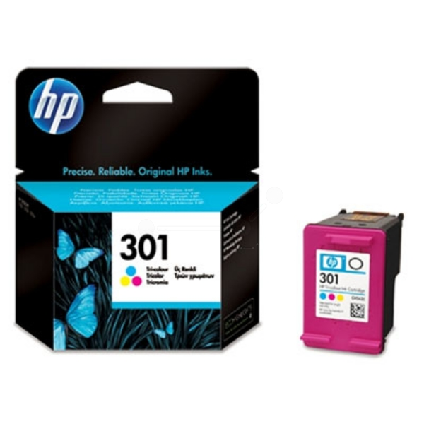 HP CH562EE#301 (301) Printhead color, 165 pages, 3ml