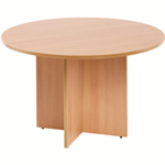 Arista FF ARISTA ROUND MEETING TABLE BEECH