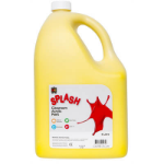 EC SPLASH CLASSROOM ACRYLIC PAINT 5 LITRES SUNSHINE YELLOW