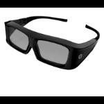 HP XC554AA stereoscopic 3D glasses Black