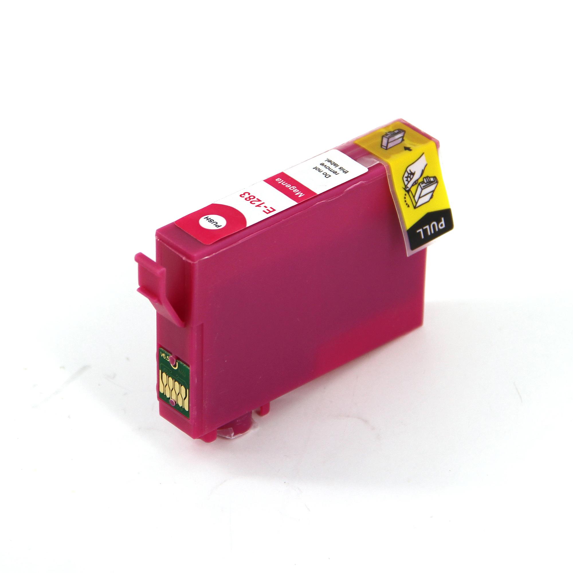 Compatible Epson T1283 Fox Magenta Ink Cartridge