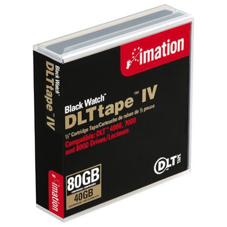 Imation Black Watch DLTtape IV 1.27 cm