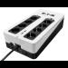 Eaton 3S700D sistema de alimentación ininterrumpida (UPS) En espera (Fuera de línea) o Standby (Offline) 700 VA 420 W 8 salidas AC