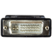 StarTech.com DVI to VGA Cable Adapter - Black - M/F DVIVGAMFBK