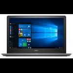 """DELL Vostro 5568 2.50GHz i5-7200U 15.6"""" 1366 x 768pixels Grey Notebook"""