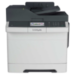 Lexmark Network ready; Print, copy, scan, fax; Duplex printing standard; Print up to 30 (A4) ppm