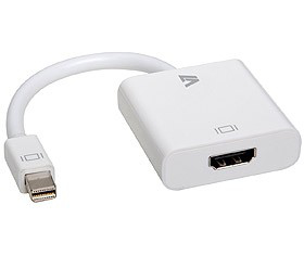 V7 Mini DisplayPort to HDMI Adapter CBL-MH1WHT-5E