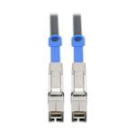 "Tripp Lite S528-01M Serial Attached SCSI (SAS) cable 39.4"" (1 m) 12 Gbit/s Black"