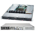 Supermicro 5019S-WR Intel® C236 LGA 1151 (Socket H4) Rack (1U) Zwart