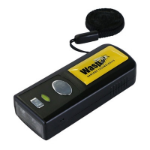 Wasp WWS110i Handheld bar code reader 1D Laser Black, Yellow