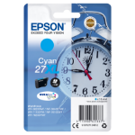 Epson C13T27124010 (27XL) Ink cartridge cyan, 1.1K pages, 10ml