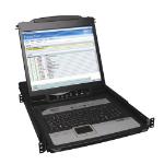 Tripp Lite NetDirector 16-Port 1U Rack-Mount Console IP KVM Switch w/19 in. LCD