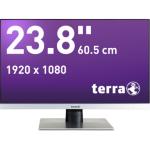 "Wortmann AG TERRA 2462W 23.8"" Full HD TFT Matt Silver computer monitor"