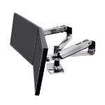 "Ergotron LX Series 45-245-026 monitor mount / stand 68.6 cm (27"") Clamp/Bolt-through Silver"