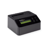 StarTech.com SDOCK1EU3P2 media duplicator HDD/SSD duplicator 1 copies Black