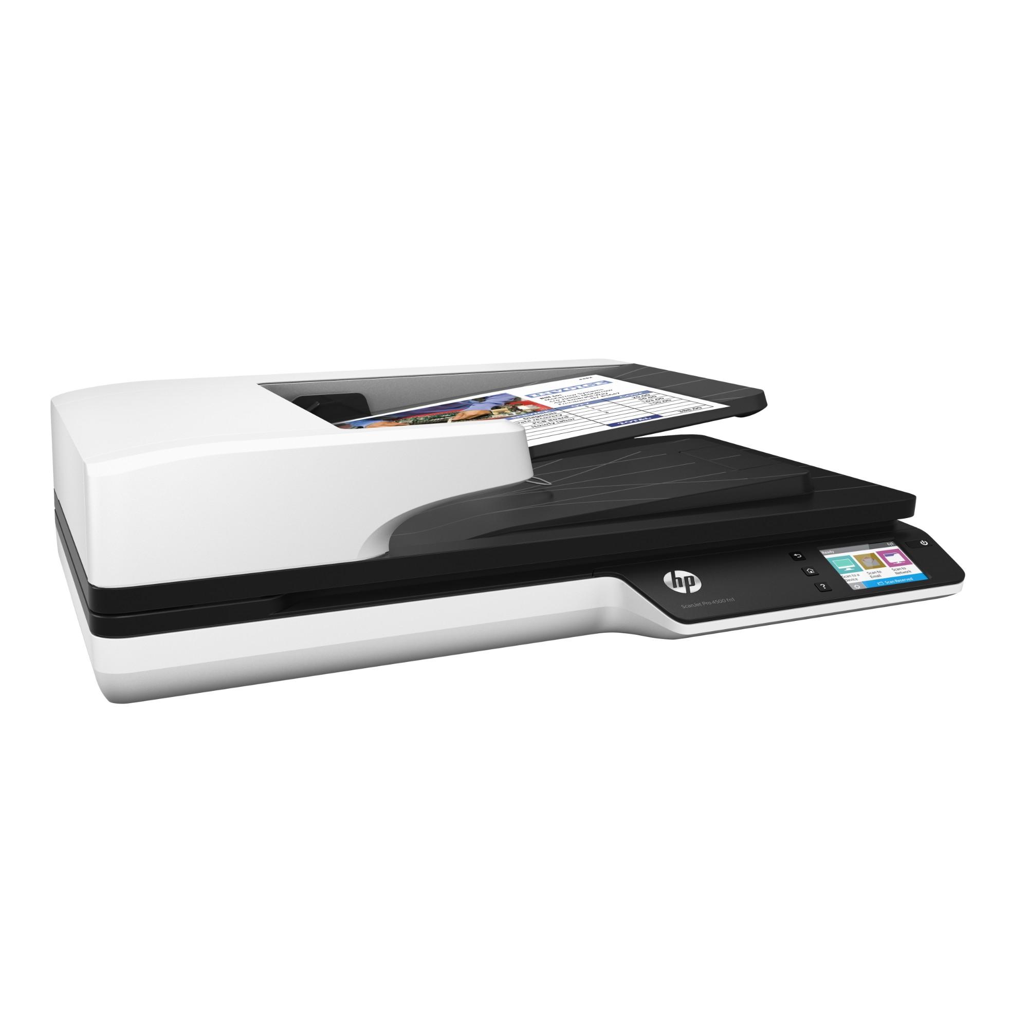 Scanjet Pro 4500 fn1 Network Flatbed Scanner Wi-Fi