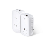 TP-LINK AV1200 1200Mbit/s Ethernet LAN Wi-Fi White 1pc(s) PowerLine network adapter