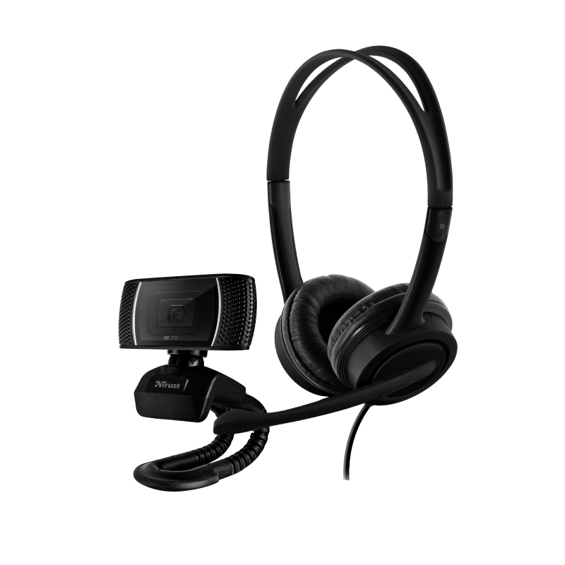 Trust Doba webcam 1280 x 720 pixels USB Black