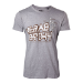 Marvel Guardians of the Galaxy Vol. 2 Men's Yeah Baby T-Shirt, Small, Grey (TS571032GOG-S)