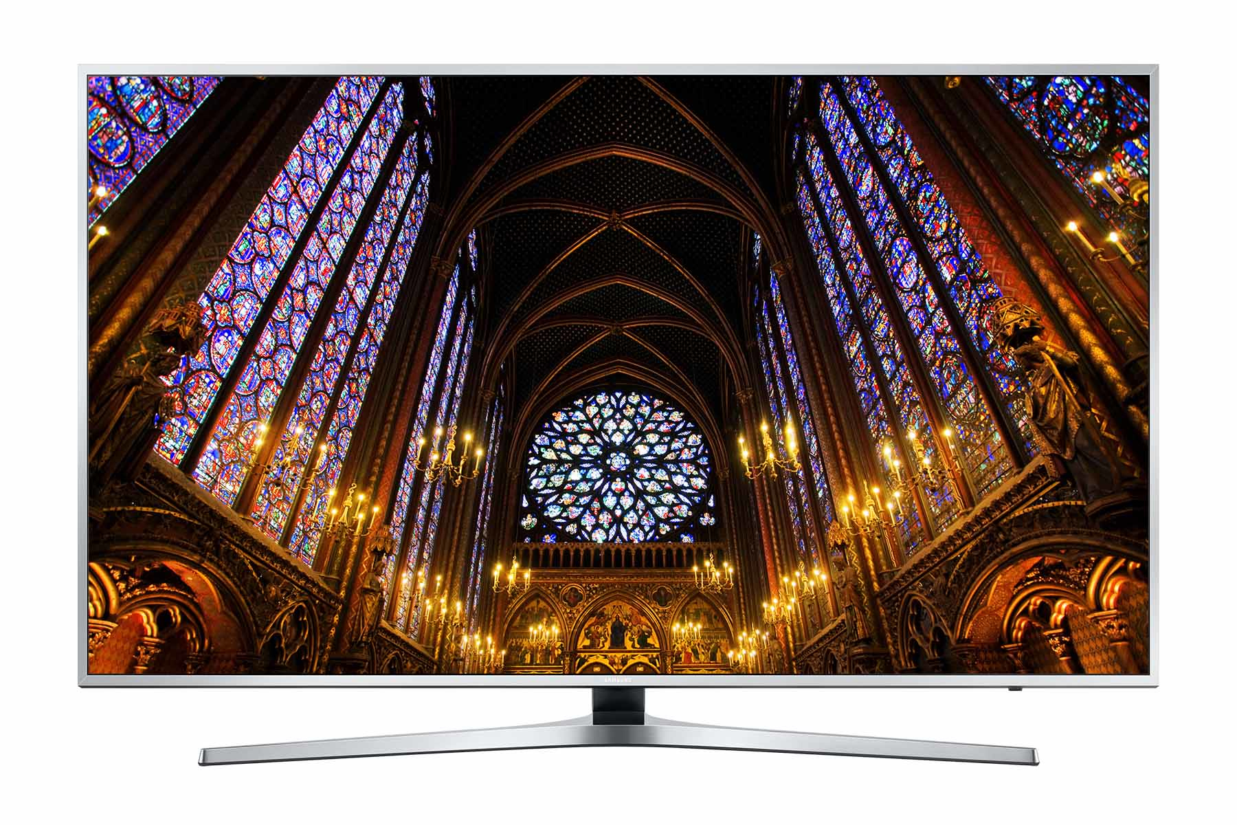 """Samsung HG49EE890UB 49"""" 4K Ultra HD Wi-Fi Silver LED TV"""