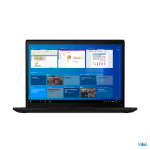 """Lenovo ThinkPad X13 LPDDR4x-SDRAM Notebook 33.8 cm (13.3"""") 1920 x 1200 pixels 11th gen Intel® Core™ i7 16 GB 512 GB SSD Wi-Fi 6 (802.11ax) Windows 10 Pro Black"""