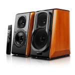 Edifier S2000 Pro loudspeaker 2-way 124 W Black,Wood Wired & Wireless Bluetooth/RCA/3.5mm
