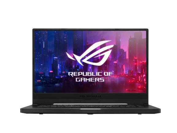 "ASUS ROG GA502DU-HN100T notebook Black 39.6 cm (15.6"") 1920 x 1080 pixels AMD Ryzen 7 16 GB DDR4-SDRAM 512 GB SSD NVIDIA® GeForce® GTX 1660 Ti Wi-Fi 6 (802.11ax) Windows 10 Home"