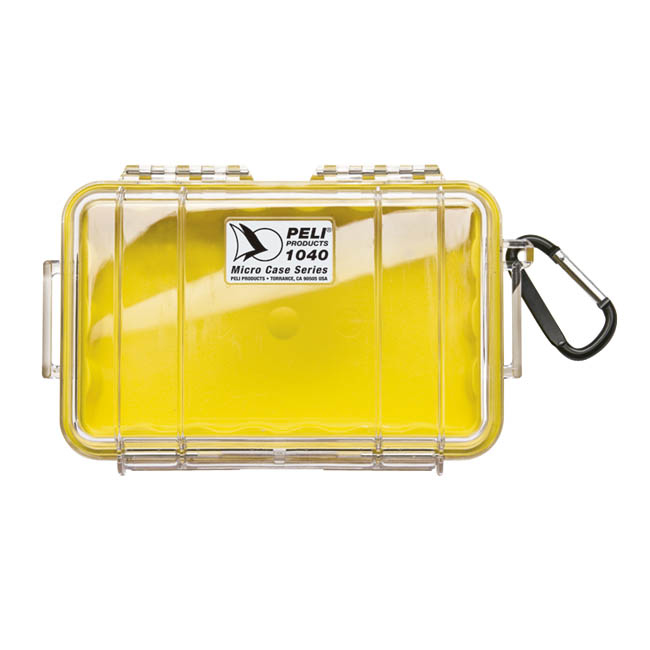 1040 Cases Yellow With Liner