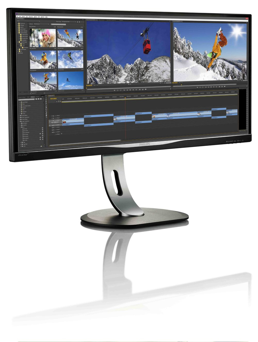 Philips Brilliance UltraWide LCD Display with MultiView