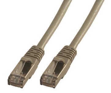 MCL CAT6 A F/UTP 0.5m cable de red 0,5 m Gris