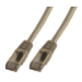 MCL CAT6 A F/UTP 0.5m cable de red 0,5 m Gris