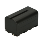 2-Power Camcorder Battery 7.4V 5200mAh