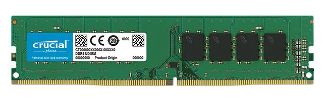 Crucial CT4G4DFS824A módulo de memoria 4 GB DDR4 2400 MHz