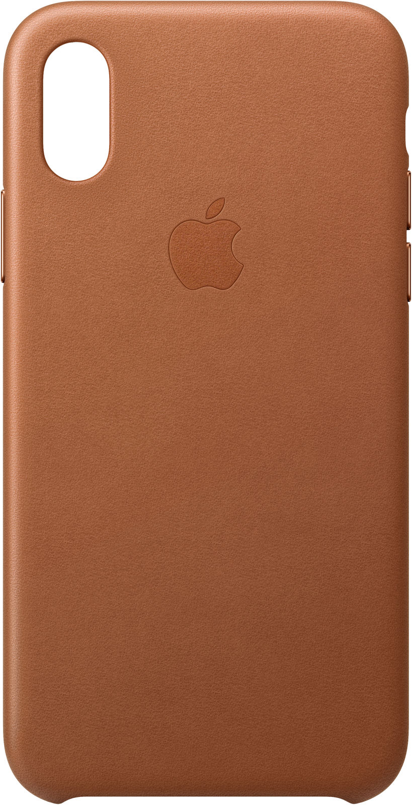 iPhone Xs - Leather Case - Saddle Brown