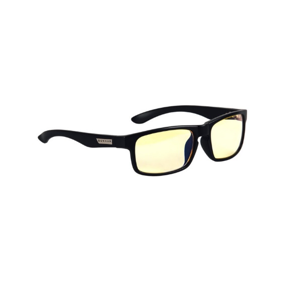 Gunnar Optiks Enigma Amber Onyx Indoor Digital Eyewear