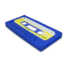 Sandberg Cover iPhone 5/5S retrotape Blue